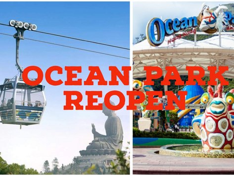 Ocean Park announced plan to reopen, and you need to make reservations
