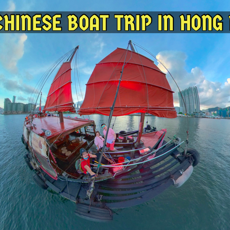 The Oldest Chinese Boat Trip in Hong Kong!! Dukling 鴨靈號!