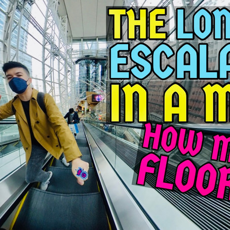 Where is the Longest Escalator in Hong Kong malls?