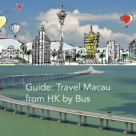 The Cheapest Ways to Travel Macau from Hong Kong by Bus Guide