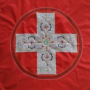 Swiss-Shipibo Flag