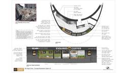 Esquires Coffee - Kings Cross, UK