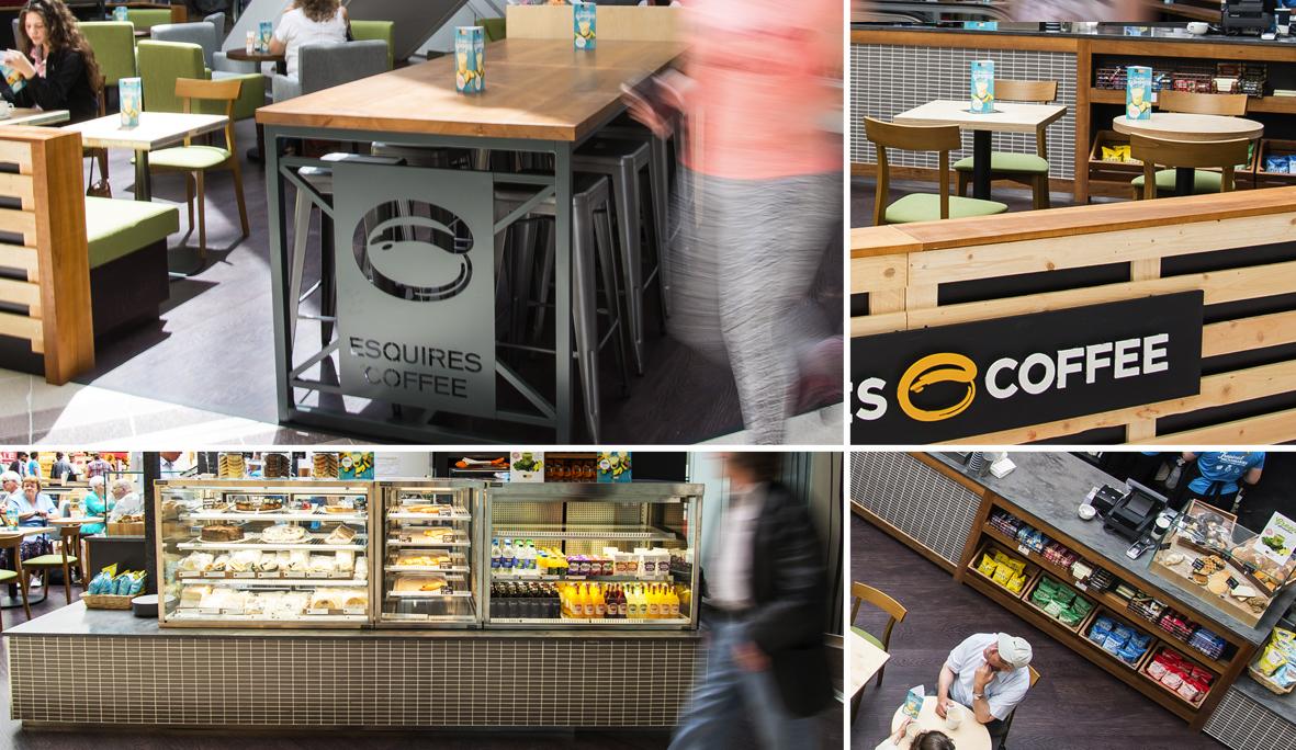 Esquires Coffee - Coventry, UK