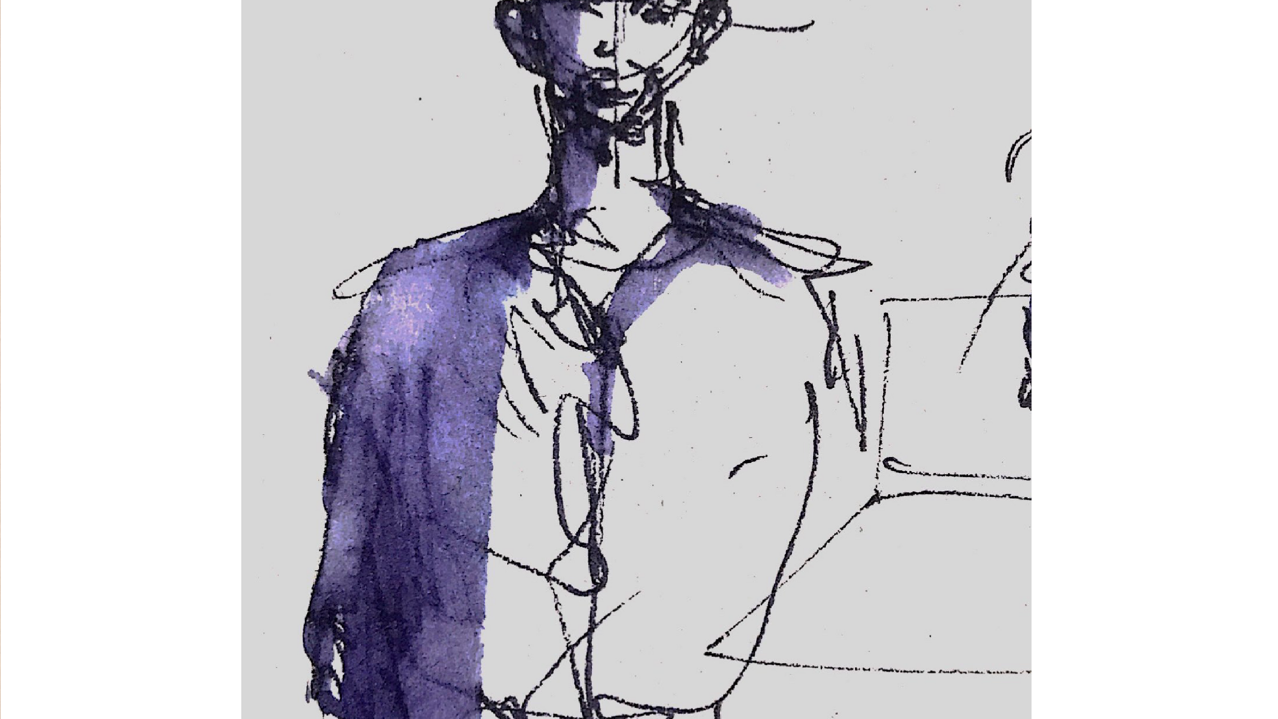 Saul nel disegno di Anna Pennini