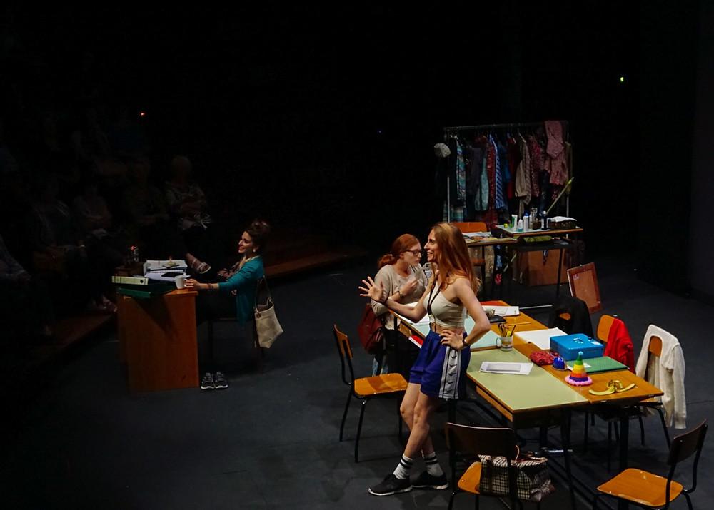 Francesca Santamaria Amato ne Le solite ignote. Foto di ©Eva Olcese