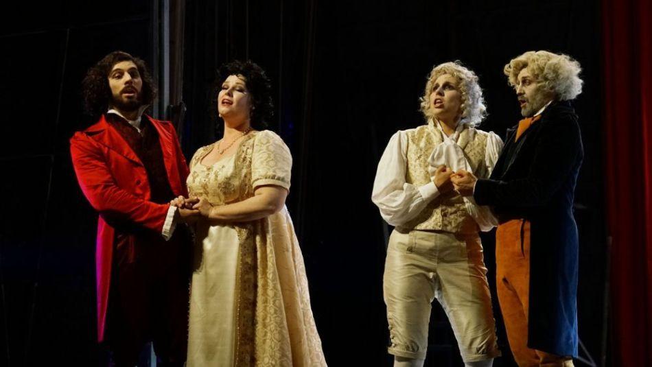 Una scena dal Rossini Opera Festival 2019
