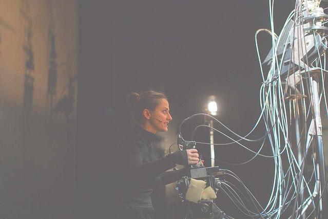 Marta Cuscunà in scena