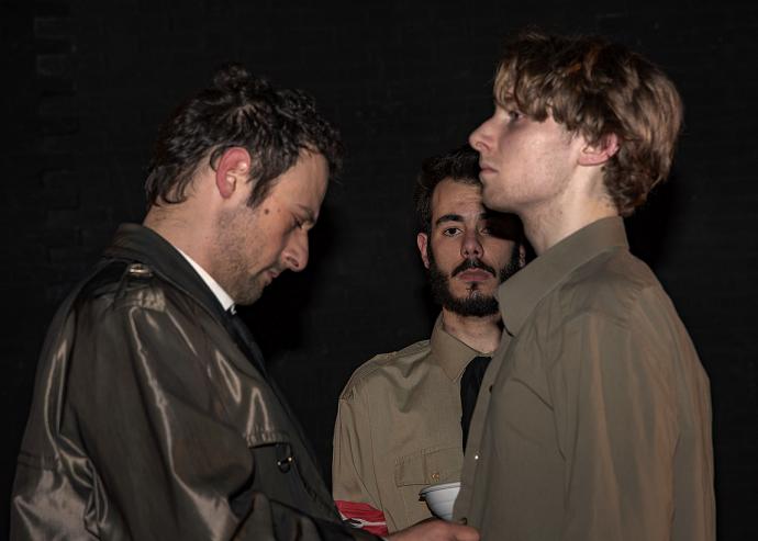 Paolo Livolsi e Francesco Patanè in Swing Heil!