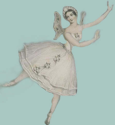 Carlotta Grisi in Giselle (1841)