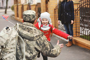Soldier and Family Reunion