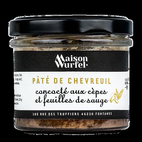 Paté de Chevreuil aux Cèpes et à la Sauge