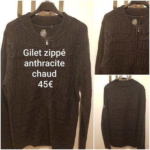 Gilet zippé chaud Hopenlife