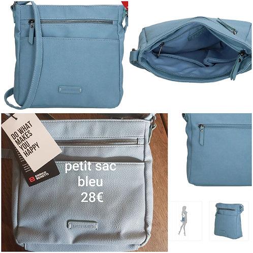 Petit sac classique bleu