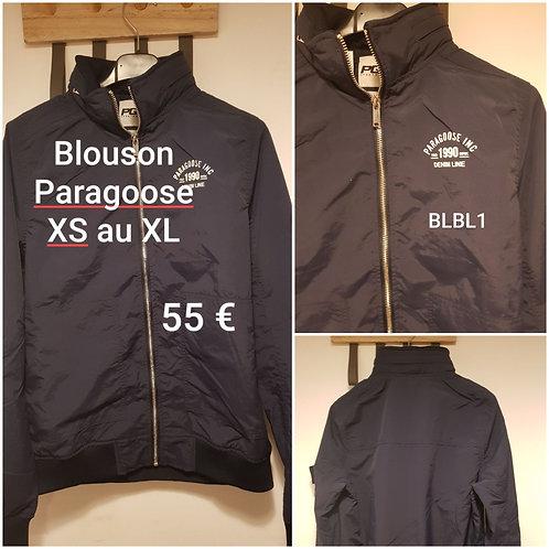 Blouson fin Paragoose marine