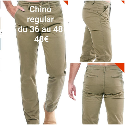 Pantalon chino hopenlife coupe slim
