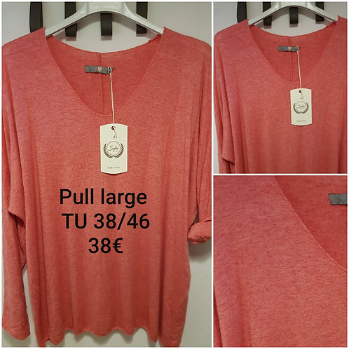 Pull tout doux coupe large