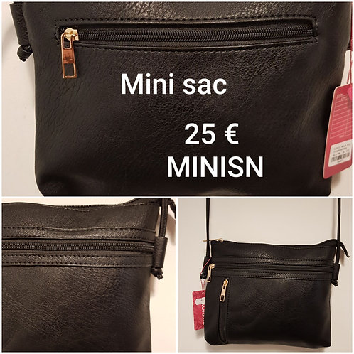 Mini sac classique noir