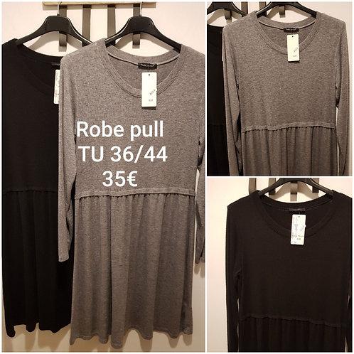 Robe pull fluide