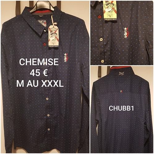 Chemise motif Union.black
