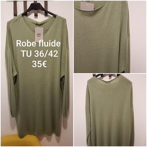 Robe pull fluide