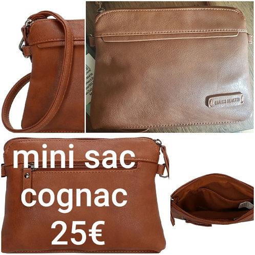 Mini sac lily cognac