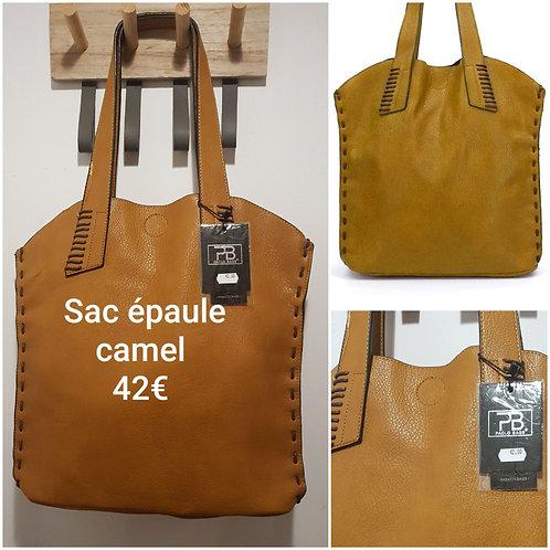 Tres beau sac original camel