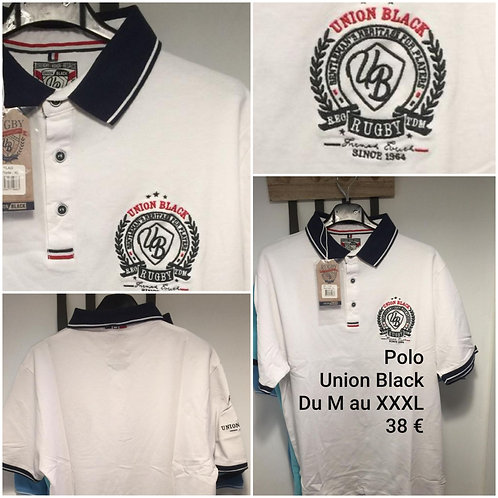 Polo Rugby Union Black