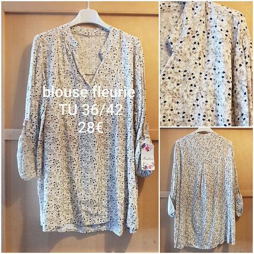 blouse fluide fleurie