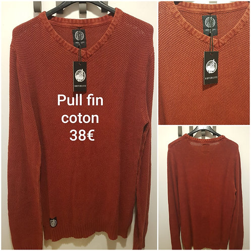 Pull fin coton Hopenlife