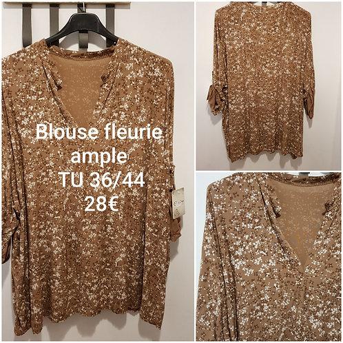 Chemise blouse ample