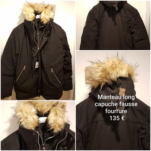 Manteau Backlight très chaud