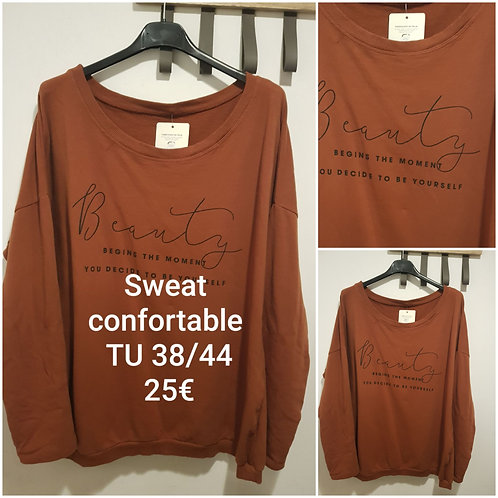 Sweat confortable
