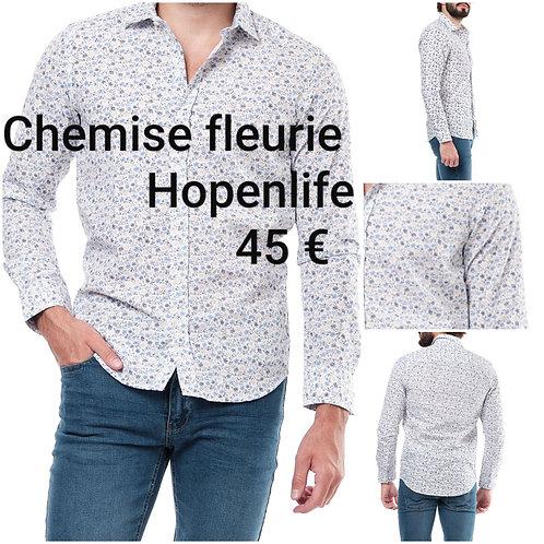 Chemise fleurie Hopenlife