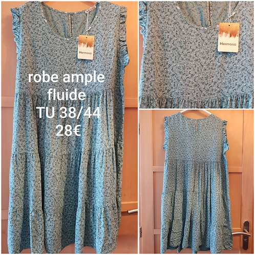 Robe ample fluide