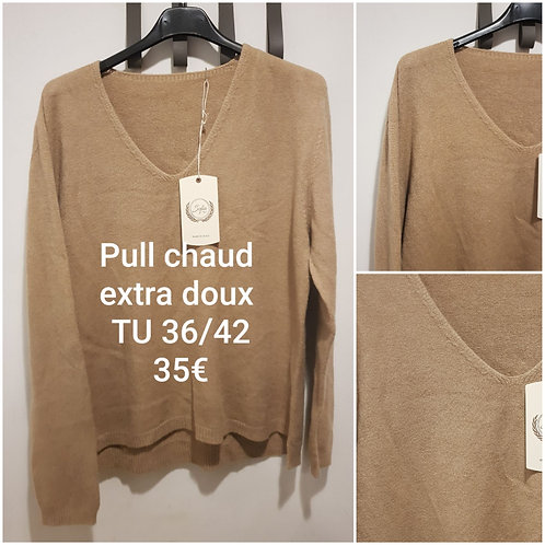 Pull chaud extra doux