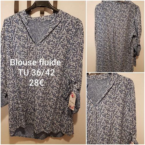 blouse fluide