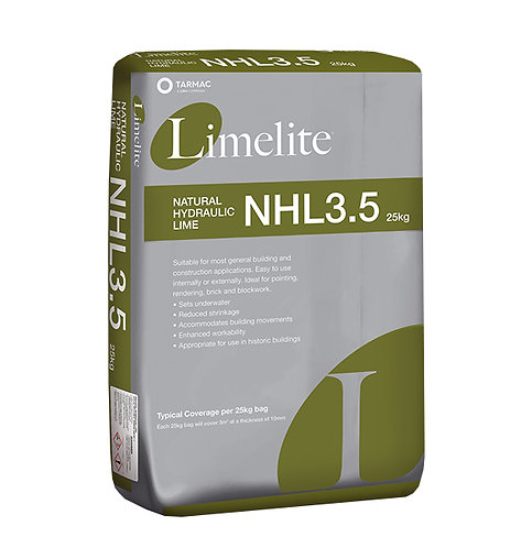 Limelite NHL 3.5 Natural Hydraulic Lime 25KG