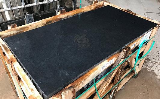 Carbon Black Limestone 1200 x 600mm x 24mm Calibrated Sawn Edges