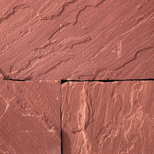 Agra Red Sandstone Calibrated 22mm