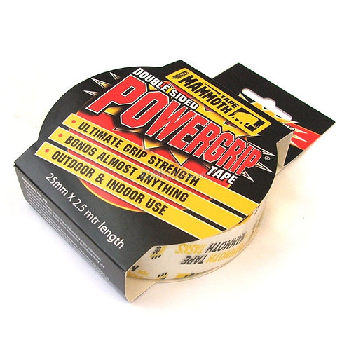 Everbuild Mammoth Powergrip Double-Sided Tape Clear