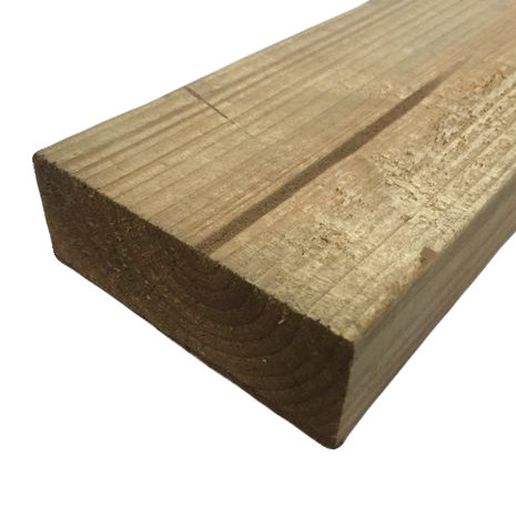 47mm x 125mm C16/C24 Imported Sawn Treated Timber Carcassing