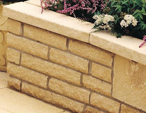 ANCESTRY® Buff Concrete Walling
