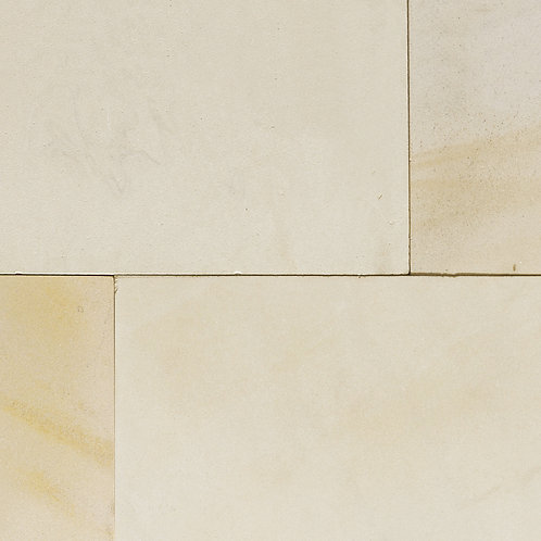 Ivory Mint Sandstone Sawn & Honed 20mm