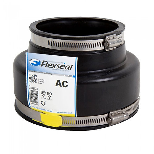 AC1602 Flexseal Adaptor Coupling 144-160mm/110-122m