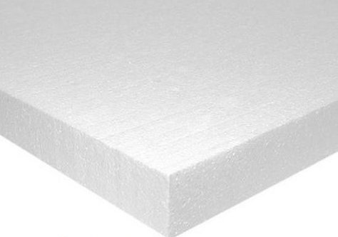 Polystyrene Insulation 2.4 x 1.2 x 25mm