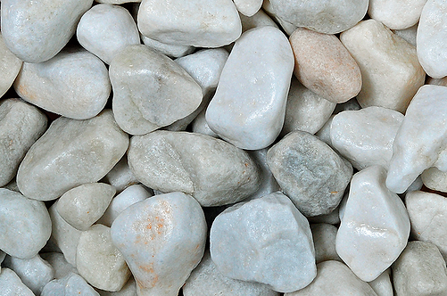 White Marble Pebbles 20-40mm