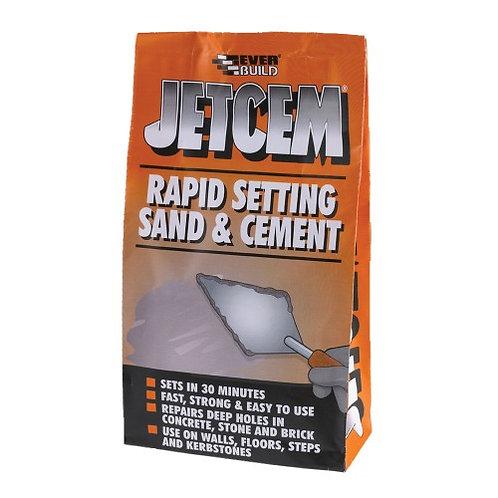 Jetcem Rapid Set Sand and Cement 6KG