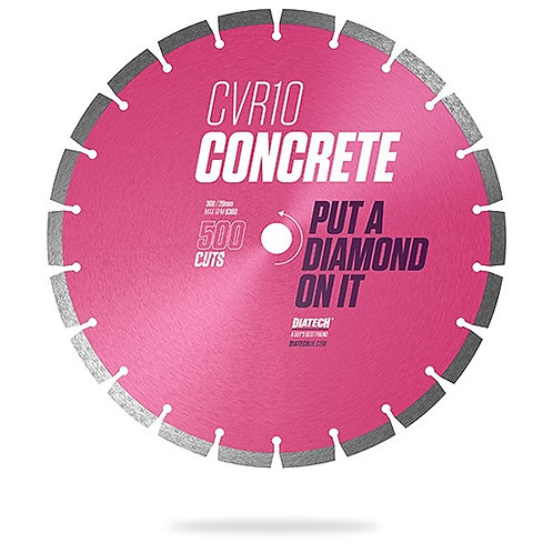 125mm CVR10 CONCRETE DIAMOND BLADE - 500 CUTS