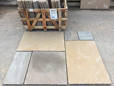 Sandstone Paving from only £12.50 ex.vat!