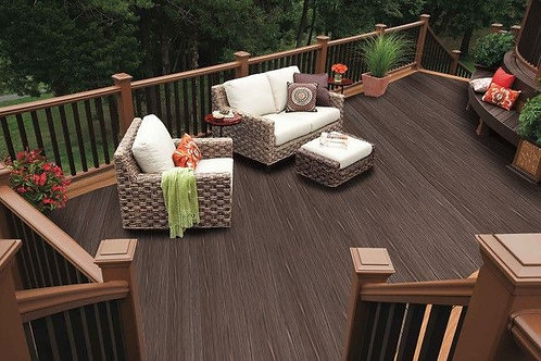 Mahogany Brown Heritage Composite Decking Witchdeck 3.6m